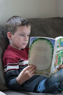 SIX-YEAR-OLD READER